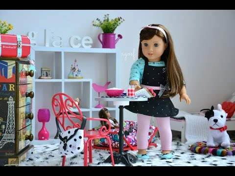 American Girl Doll Grace's Bedroom 2015