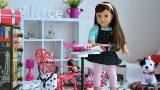 American Girl Doll Grace's Bedroom ~ Watch In Hd!