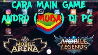 Cara Bermain Game MOBA - di Bluestack