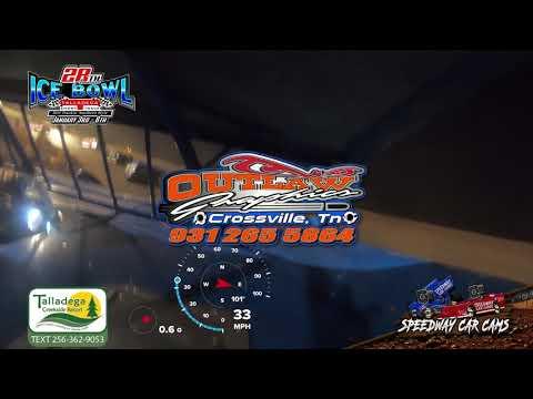 #35 Dallas Cooper - Super Late Model - 1-6-19 Talladega Short Track - In Car Camera