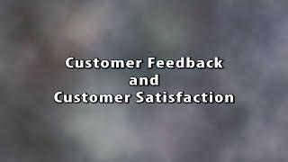 2. Quality: Customer Feedback and Customer Satisfaction Mp3