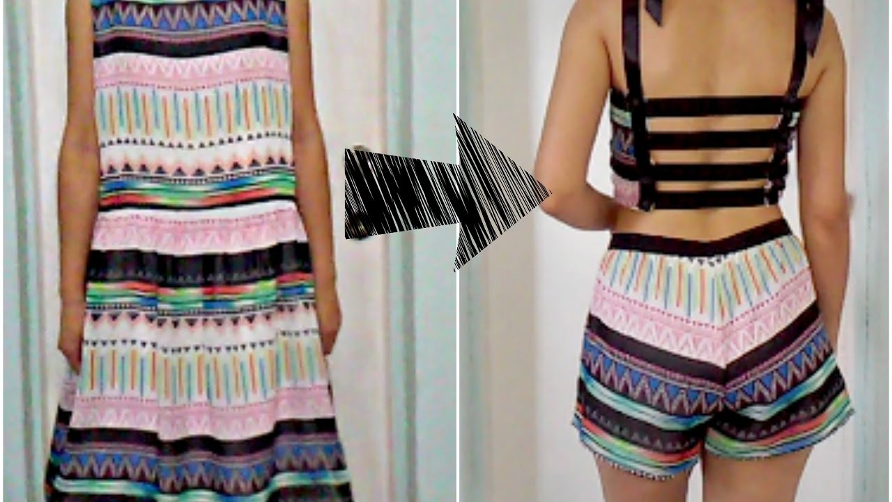 DIY Clothes Recycling Ideas # 4 - YouTube