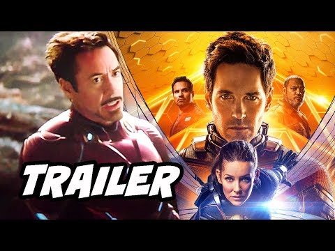 Ant-Man and The Wasp Avengers Trailer -...