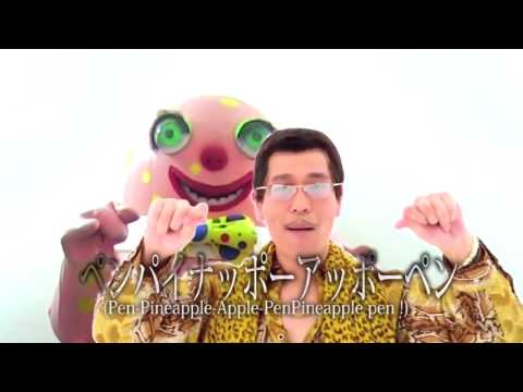 PPAP(Pen-Pineapple-Apple-Pen) feat. Mr Blobby