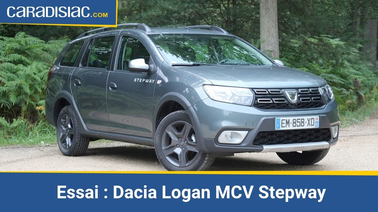 essai vid o dacia logan mcv stepway l 39 allroad petit. Black Bedroom Furniture Sets. Home Design Ideas