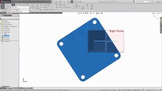 SOLIDWORKS - Re-orient an Imported File
