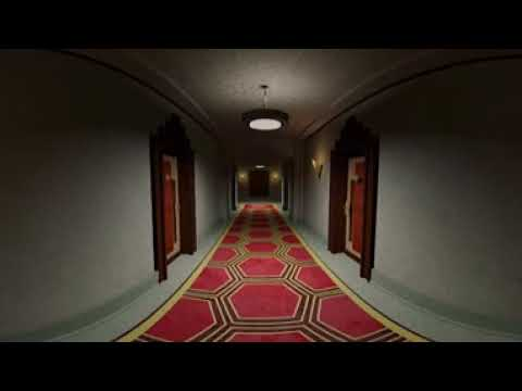 360 Degree View Of My American Horror Story Hotel 3D Model Scene.