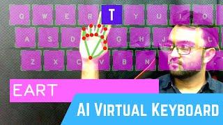 AI Virtual Keyboard using OpenCV   Computer Vision   CVZone