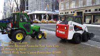 Canon Powershot A1400 Review - Blizzard Nemo In New York City