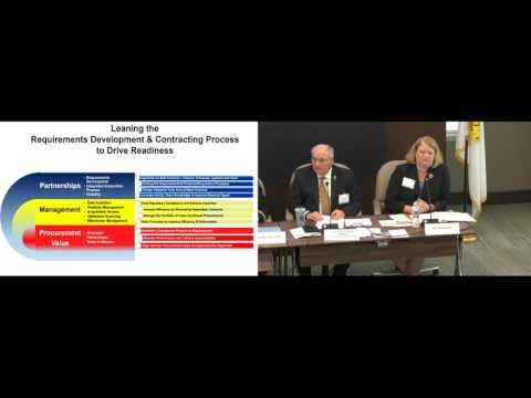 2017 Army Contracts Hot Topic - Panel 3 - Leaning the Process to Drive Readiness