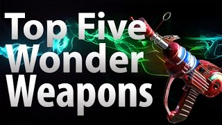 TOP 5 Wonder Weapons in Call of Duty