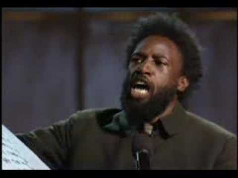 Def Poetry Jam - Saul Williams (Coded Language)