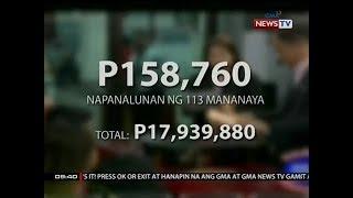 SONA: 113 lotto bettor, nakakuha ng limang numero sa winning combination noong Martes