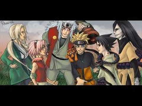 Naruto - Old Legends New Legends