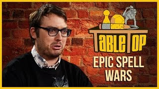 Epic Spell Wars: Emily V. Gordon, Jonah Ray, and Veronica Belmont Join Wil on TableTop S03E09