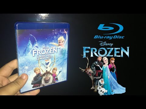 (Blu-ray) Frozen - Uma Aventura Congelante