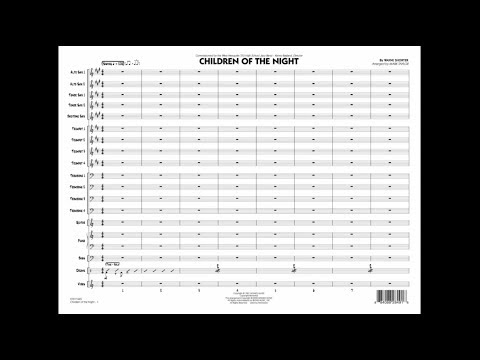 Children of the Night by Wayne Shorter/arr. Mark Taylor mp3