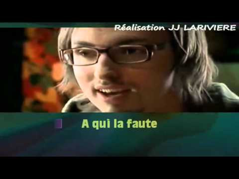 CHRISTOPHE WILLEM    DOUBLE JEU JJ I G JJ Karaoké - Paroles