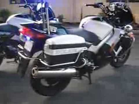 Honda Vfr 800 Police Motorcycle Youtube
