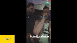 جليل باليرمو يغني مامي ناسك ظلموني في عرس أمين بومدين