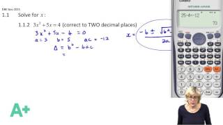 mathematics maths dbe nsc grade 12 past exam papers 2015 paper 1 question 1