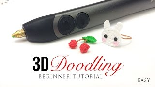 3Doodler 2.0 Tutorial - Easy Guide for Beginners on DIY 3D Printing!