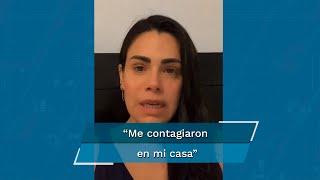 Luz Elena González asegura que personal de servicio la contagió de Covid