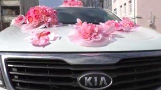Украшение на свадебную машину - Aleksandra