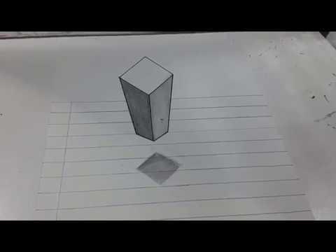 Como dibujar en 3d a lapiz paso a paso faciles youtube for Programa para dibujar en 3d