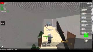 Roblox mad murder: KNIFE MASSACRE!