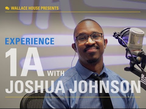 Wallace House presents a special event with NPR's 1A and host Joshua Johnson