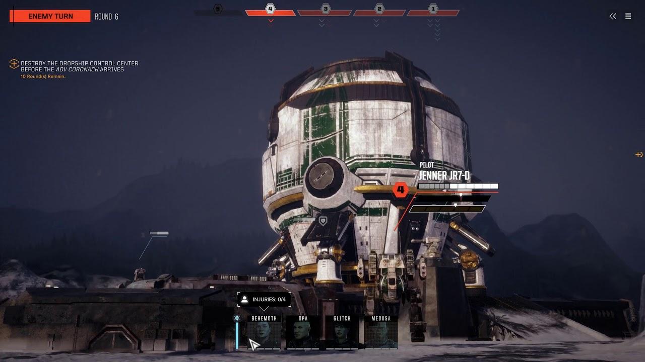 Liberation: Panzyr - Campaign Mission - BattleTech