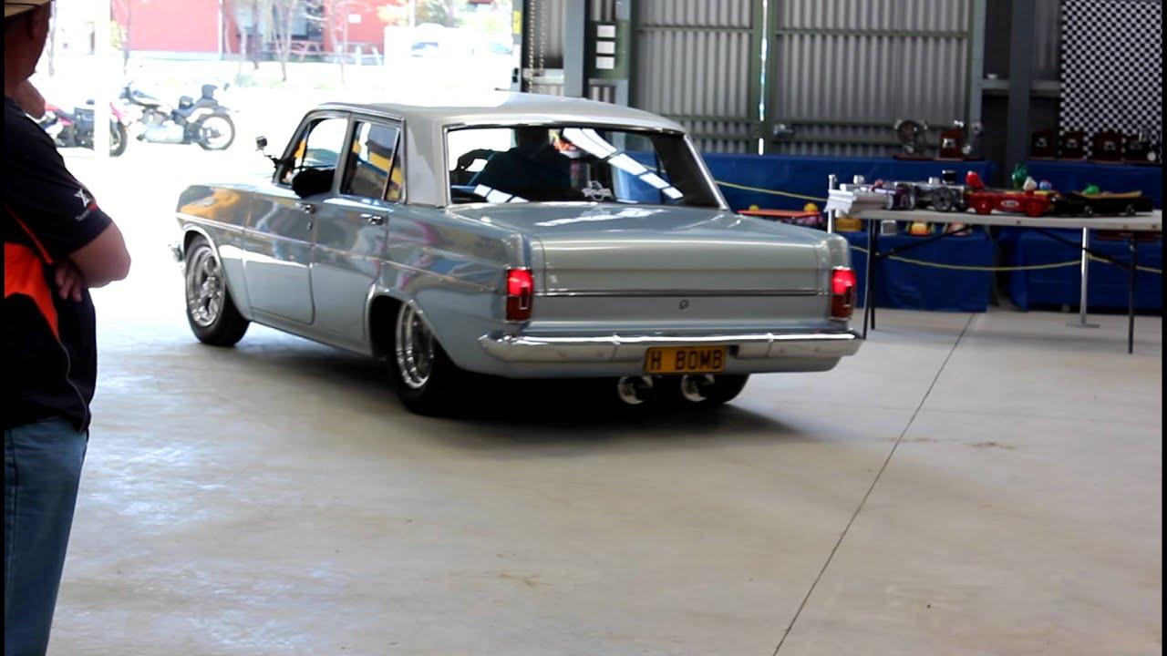 V8 EH Holden H BOMB at Mudgee Motorfest 2012 - YouTube