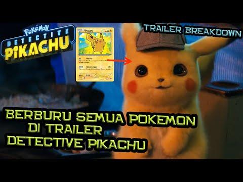 Berburu Pokemon Di Trailer Detective Pikachu | Detective Pikachu Trailer Breakdown