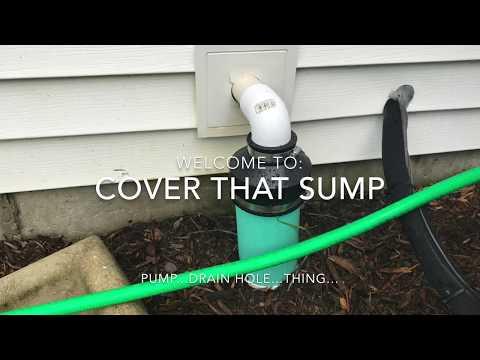 Sump pump dump