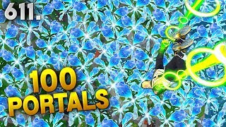 100 PORTALS IN 10 SECONDS..!! Fortnite Funny WTF Fails and Daily Best Moments Ep.611