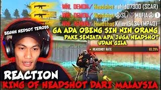 Download lagu INILAH TOP GLOBAL HEADSHOT DARI MALAYSIA !! ALL WEAPON GOKIL
