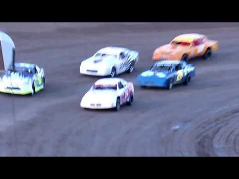 Desert Thunder Raceway I.M.C.A Stock Car Heat Races 4/13/18