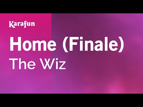 Karaoke Home (Finale) - The Wiz *