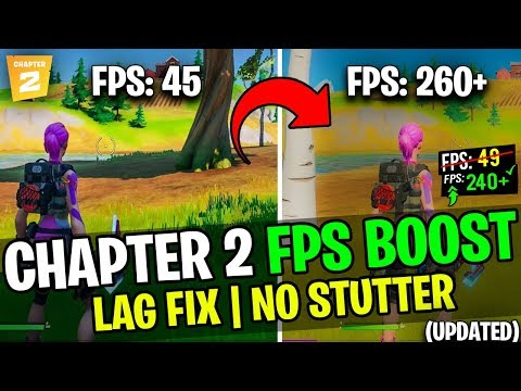 🔧Fortnite Chapter 2 - Increase FPS And Fix Lag On Low-End PC ✅ Best Settings For Chapter 2| 2019-20
