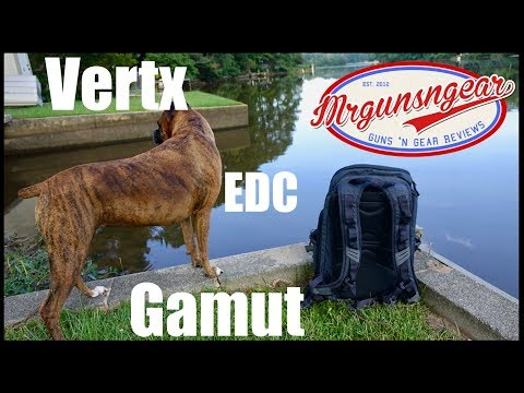 Vertx EDC Gamut Backpack Long Term Use Review (HD)