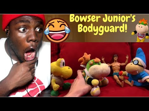 SML Movie: Bowser Junior's Bodyguard! by SuperLuigiLogan REACTION!!!
