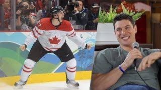 Spittin' Chiclets Interviews Sidney Crosby In Halifax, Nova Scotia
