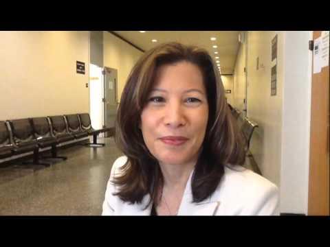 California Chief Justice Tani G. Cantil-Sakauye goes to jury duty