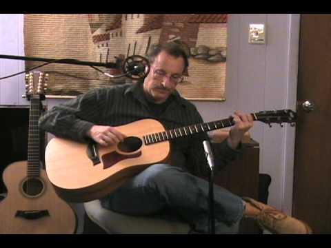 Curt Lippe plays Duck Baker's arr. Angeline the Baker (trad. folk song)