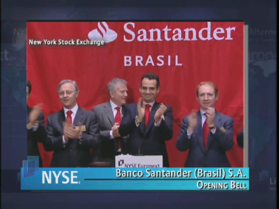 7 October 2009 Banco Santander Nyse Euronext Opening Bell Youtube