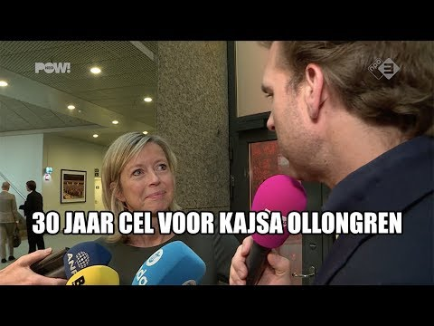 30 jaar cel voor Kajsa Ollongren