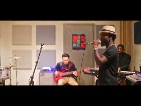 Bisa kdei Rehearsing with the Synchro Band, New York (Singing Odo Carpenter)