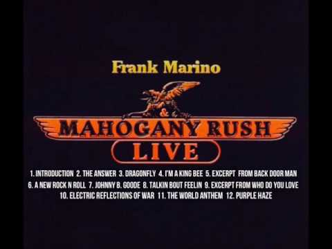 FRANK MARINO & MAHOGANY RUSH...LIVE ..THE OFFICIAL ALBUM