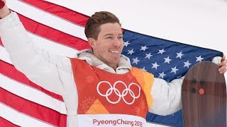 Shaun White's 3 Runs in Men's Snowboard Halfpipe Final | Pyeongchang 2018